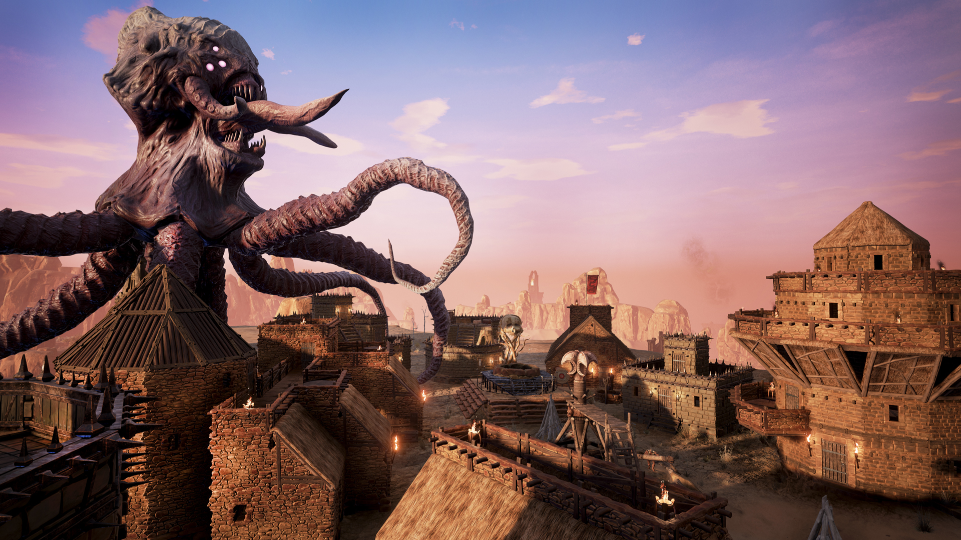Funcom used a large amount of huge textures (up to 8K) in <em>Conan Exiles</em> thanks to Granite for Unreal.