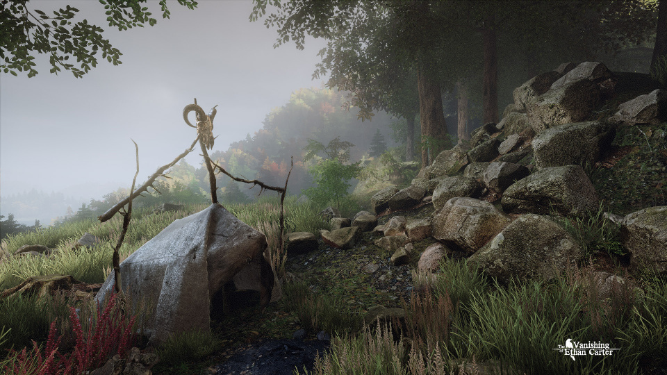 Screenshot from The Vanishing of Ethan Carter