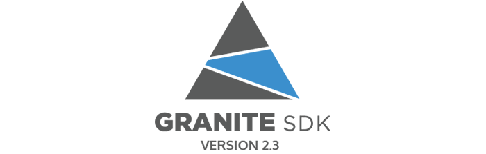 Granite SDK 2.3 - Logo