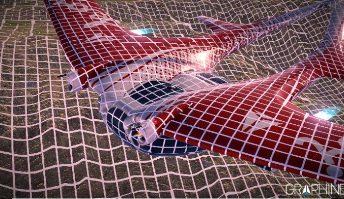 Granite SDK tile based streaming on 3D scene with glider and large terrain